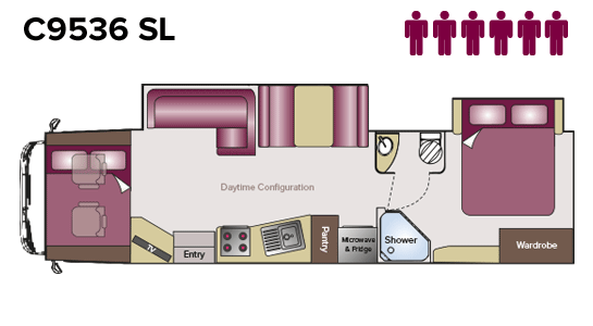 C9536SL Floorplan