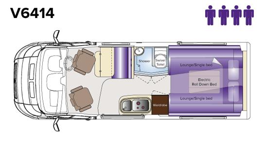 V6414 Floorplan